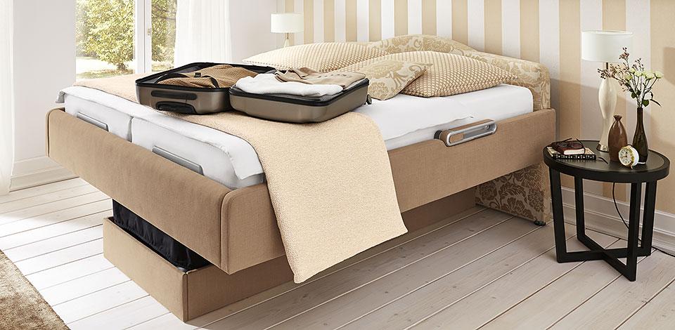 camas espaciales que ofrece mas posturas y movimientos.
